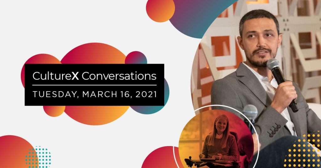 CultureX Conversations Ad - Tuesday, March 16 2021